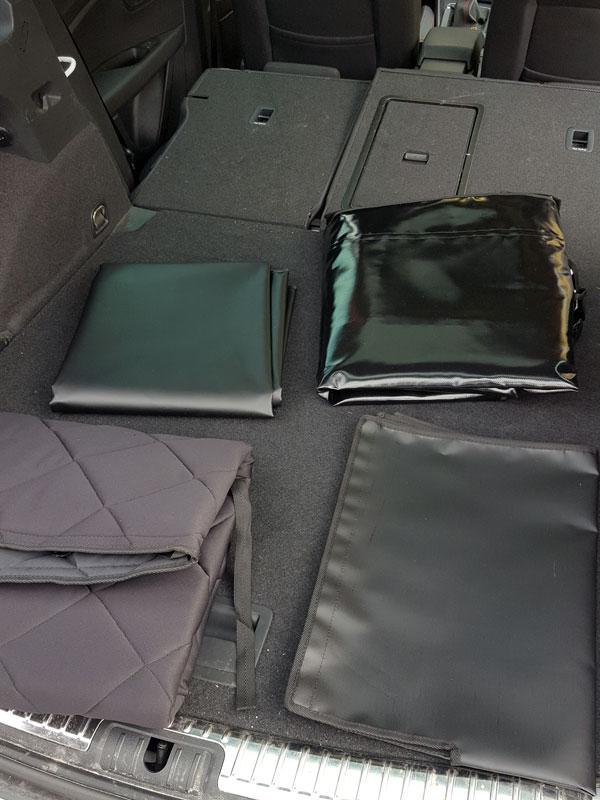 Decken für den Kofferraum