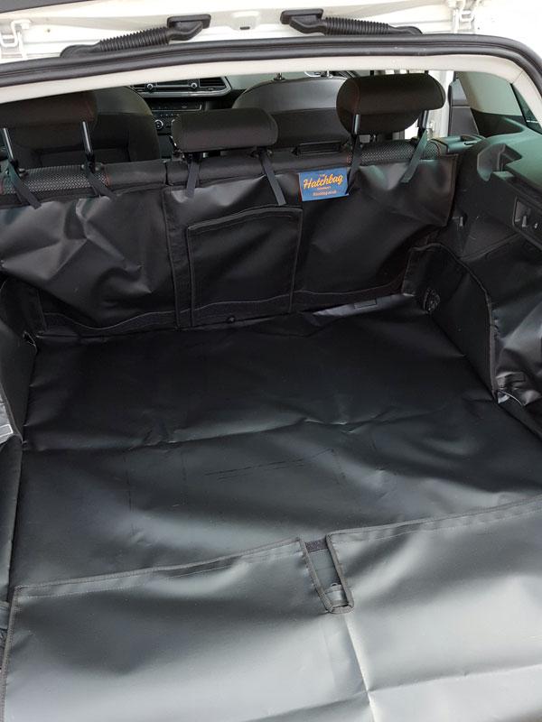 Ausgekleideter Kofferraum