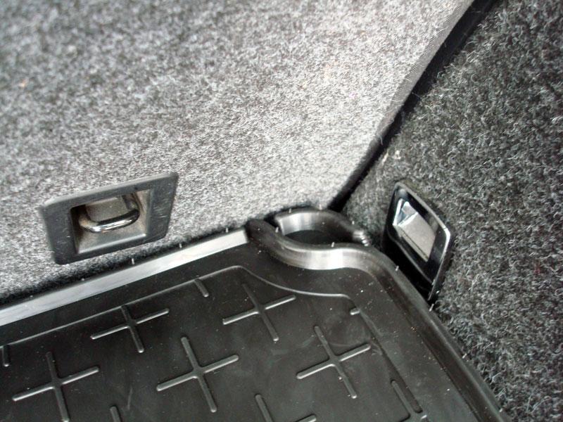 Detailaufnahme vom Kofferraum