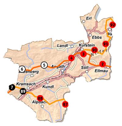 Kufstein-Karte