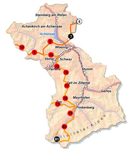 Schwaz-Karte