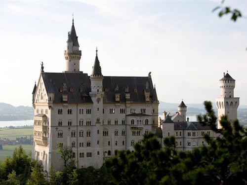 Großansicht - Schloss Neuschwanstein