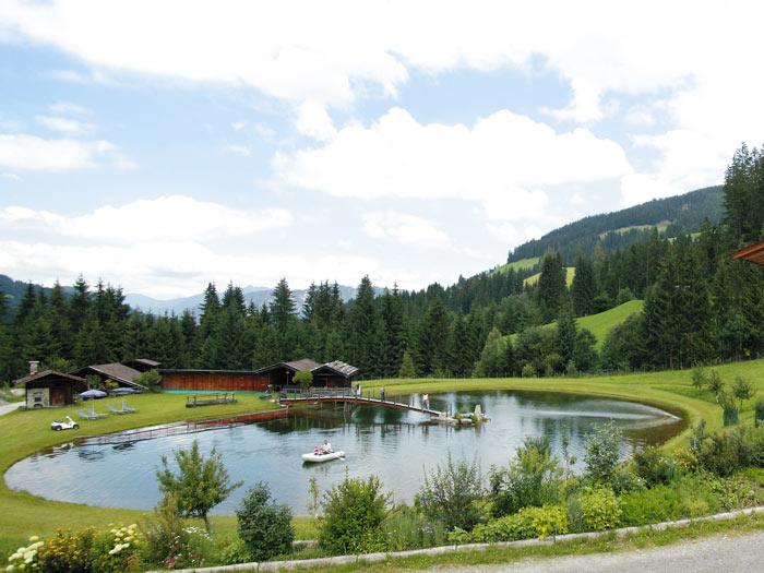 Großansicht - Badeteich auf der Talhofalm
