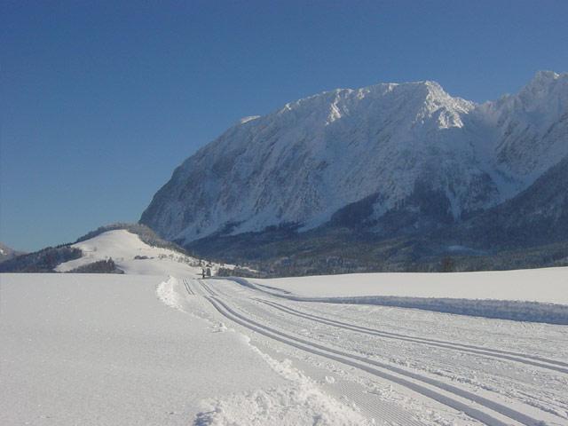 Großansicht - Langlaufloipe im steirischen Salzkammergut