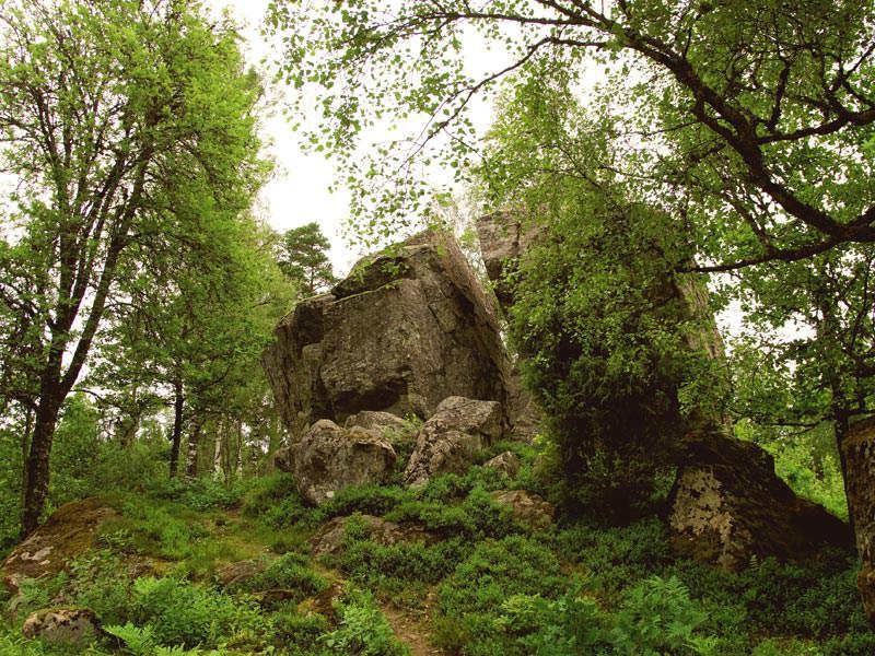 Großansicht - Wandern in Schweden