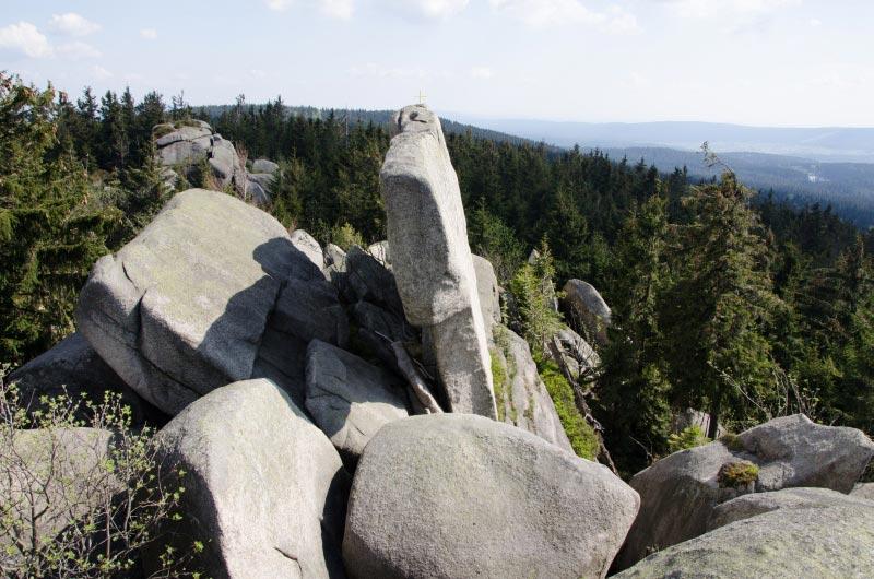 Großansicht - Felsformation Fränkischer Gebirgsweg