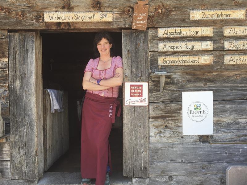 Großansicht - Genusshuette Gemstel Schoenesboden @ Kleinwalsertal Tourismus