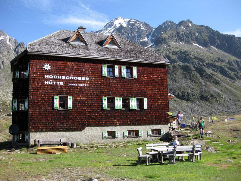 Großansicht - Ansicht Hochschoberhütte im Sommer