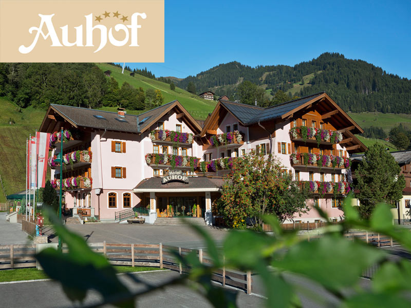 Großansicht - Hotel Auhof Aussenansicht von vorne