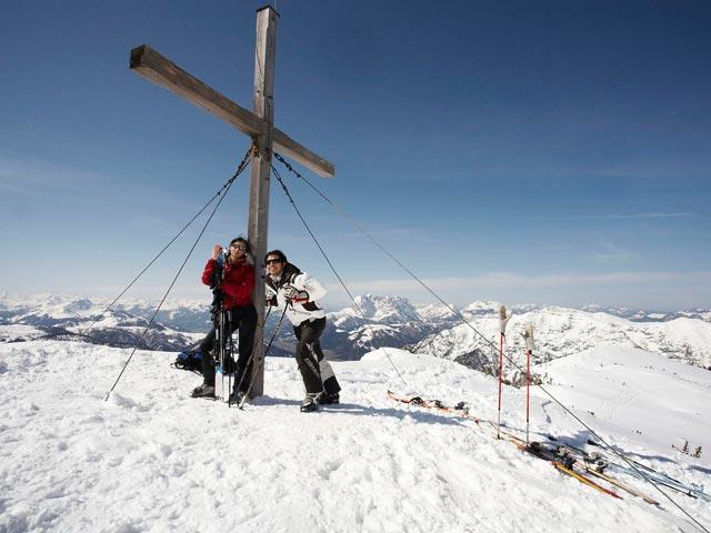 Großansicht - Gipfelkreuz Berg Reit im Winkl