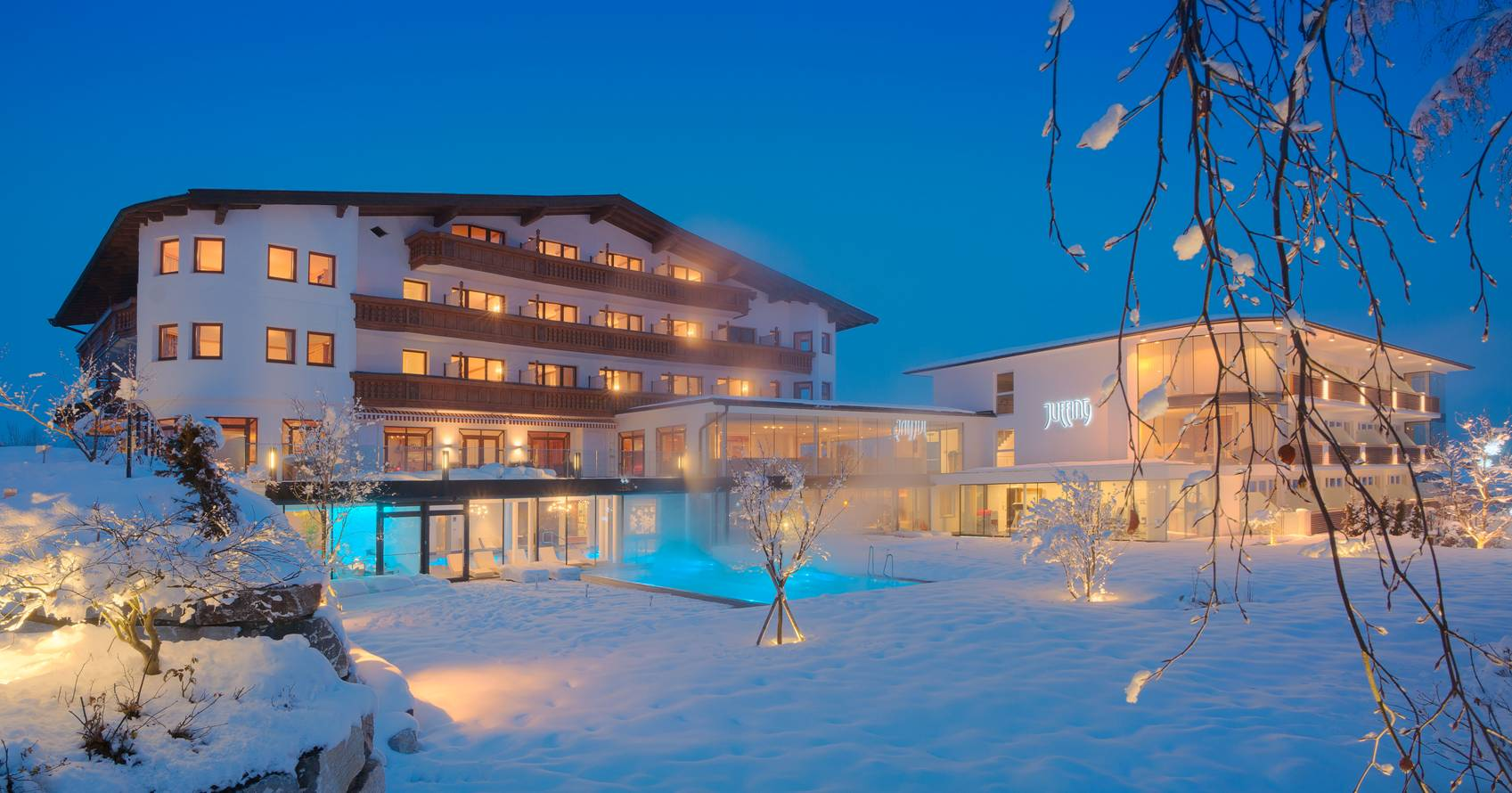 Großansicht - Außenansicht Juffing Hotel & Spa