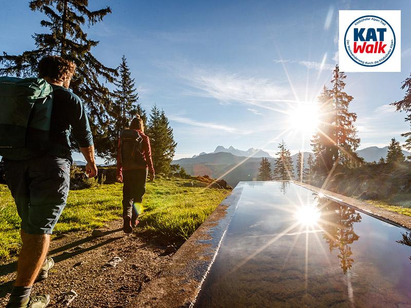 Großansicht - Auf dem KAT Walk durch die Kitzbüheler Alpen