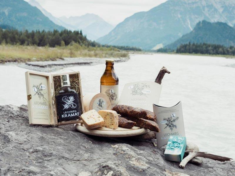 Großansicht - Regionale und herzhafte Lechweg Produkte