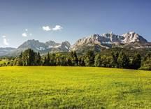 Frühling Panorama Wilder Kaiser, Foto: Emanuel Adensam
