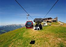 Salvenbahn mit Gipfelrestaurant auf der Hohen Salve