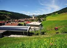 Talstation der Salvenbahn Hohe Salve