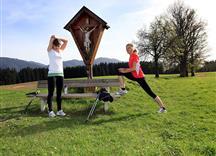 Nordic Walking in der Ferienregion Hohe Salve