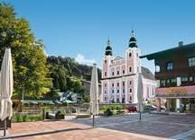 Dorfplatz Brixen im Thale