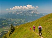 Familienwandern am Kitzbüheler Horn