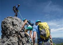 Klettern Wandern alpin Hammerspitze Bergschule