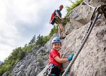 Klettersteig Familie © defrancesco