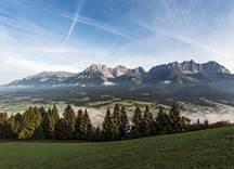 Landschaft Panorama Wilder Kaiser, Foto: Peter von Felbert