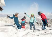 Skifahren - Steinplatte Waidring © defrancesco