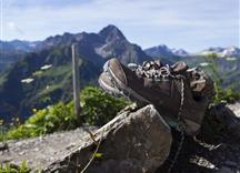 Wandern Sonnenaufgang Walmendingerhorn