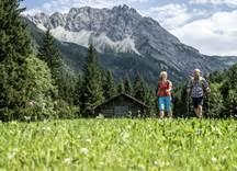 Wanderwege Gemsteltal Wandern