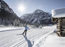 Winter Langlaufen Steinbock Loipe