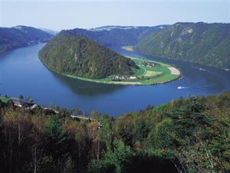 Ausblick auf das Donautal