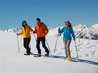 Schneeschuhwanderer im Großarltal