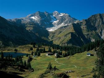 Ausblick auf den Bregenzer Wald