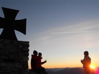 Sonnenaufgangswanderung Gartnerkofel