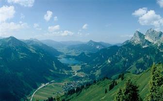Aussicht über das Tannheimer Tal