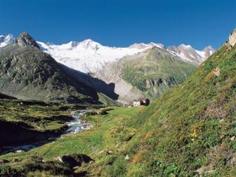 Bergütte in den Zillertaler Alpen
