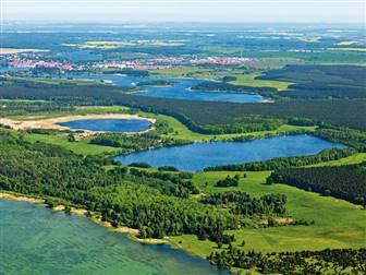 Seenlandschaft Mecklenburg Vorpommern im Sommer