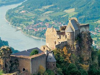 Ausblick auf die Ruine Aggstein