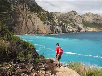 Wanderweg entlang der Trans Tramuntana in Mallorca