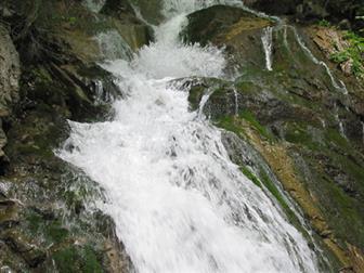 Wasserfall am WildeWasserWeg Stubaital