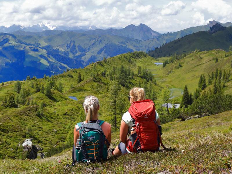 Großansicht - Salzburger Almenweg © Großarltal