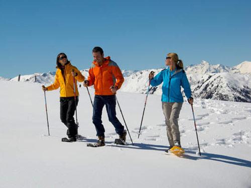 Großansicht - Schneeschuhwanderer im Großarltal