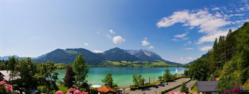 Großansicht - Ausblick auf den Walchsee in Tirol