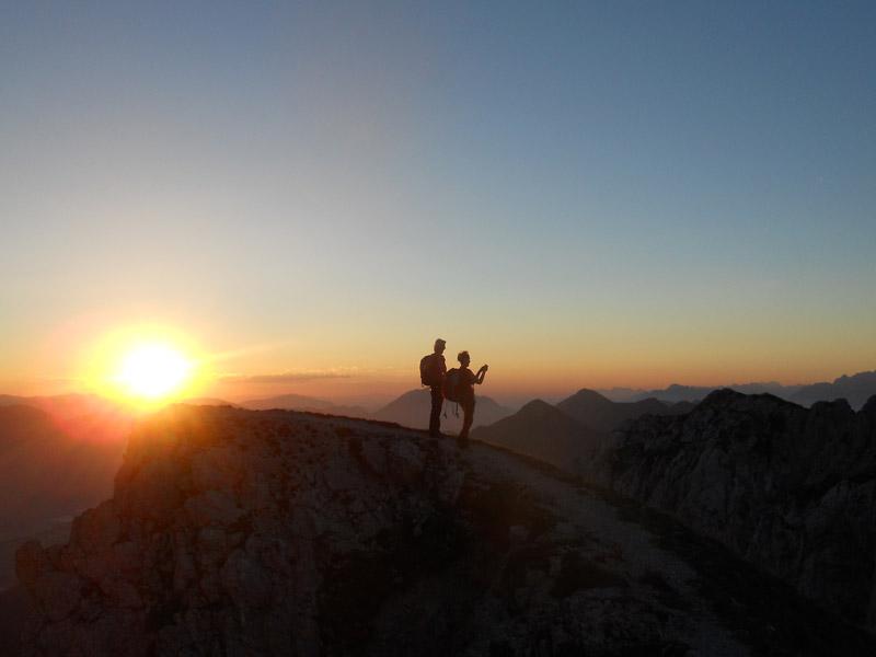 Großansicht - Sonnenaufgangswanderung Gartnerkofel