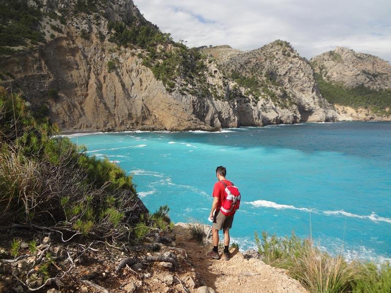 Großansicht - Wanderweg entlang der Trans Tramuntana in Mallorca