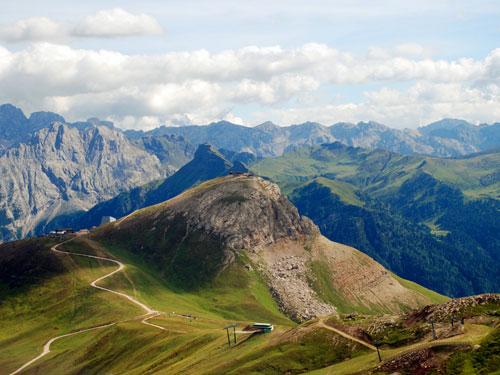 Großansicht - Ausblick auf die Berglanschaft