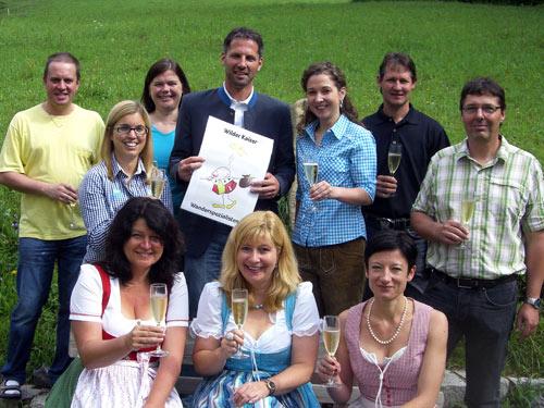 Großansicht - Auszeichnung Wilder Kaiser Wanderspezialisten