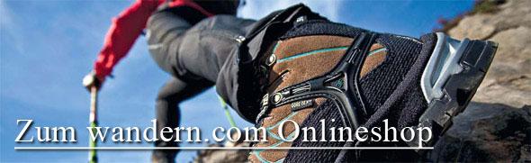 Onlineshop für Wanderstiefel